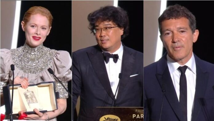 Cannes 2019 - i vincitori