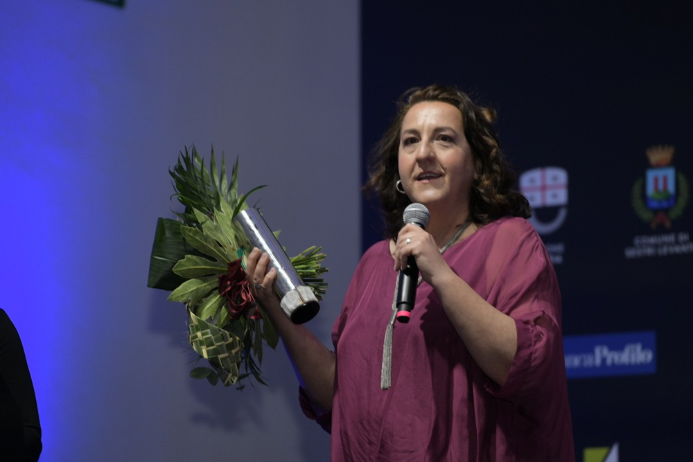 Carmen Flores al Riviera International Film Festival Credit Nicola Bottinelli