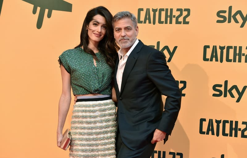 Catch-22 - George e Amal Clooney