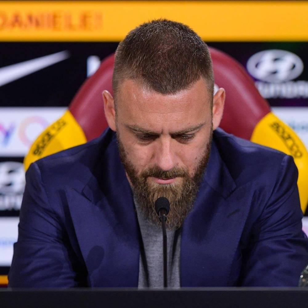 Daniele De Rossi - conferenza stampa 14-05-2019 2