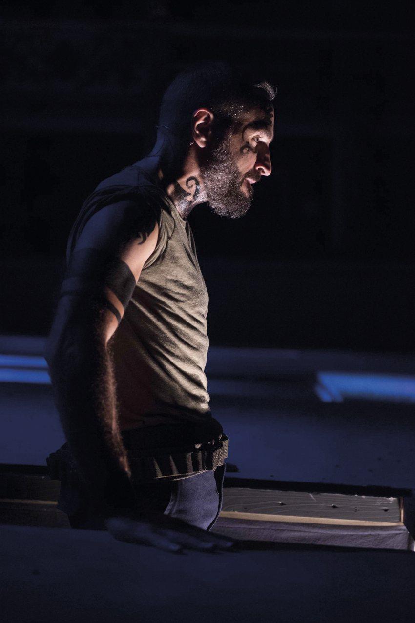 Daniele Russo in Giulio Cesare