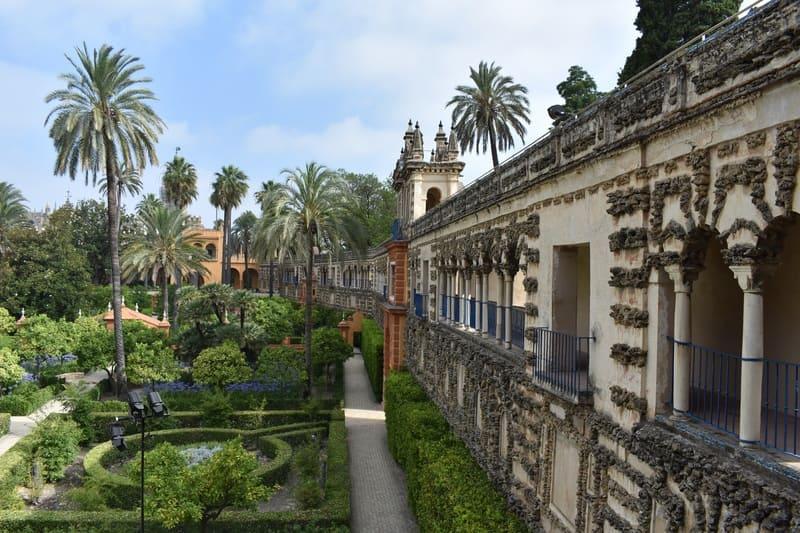 Game of Thrones - Giardini dell'Acqua del Palazzo del Regno di Dorn (Real Alcazar di Siviglia)