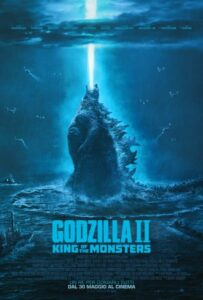 Godzilla II - King of the Monsters - locandina
