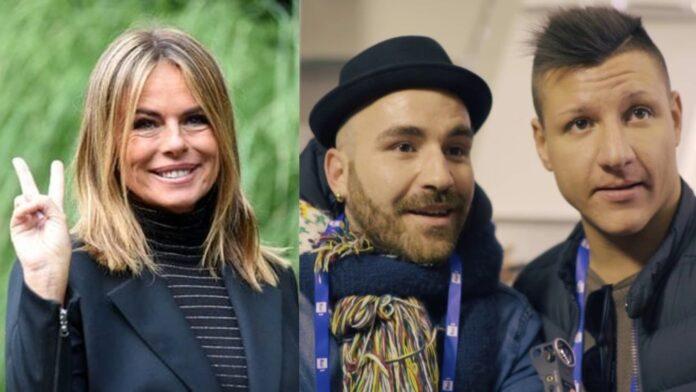 Il Pancio ed Enzuccio e Paola Perego