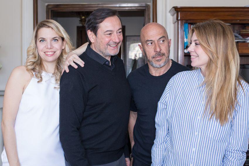 Il test con Roberto Ciufoli, Benedicta Boccoli, Simone Colombari e Sarah Biacchi