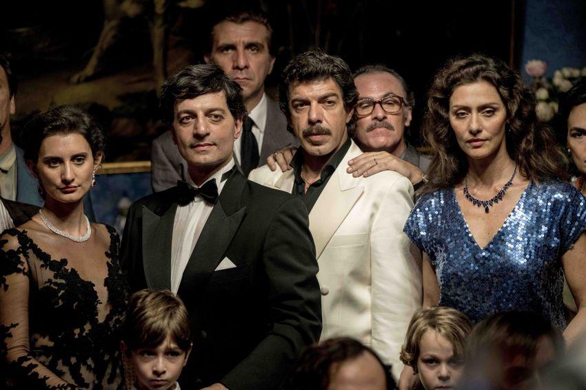 Il traditore con Pierfrancesco Favino, Fabrizio Ferracane, Maria Fernanda Candido