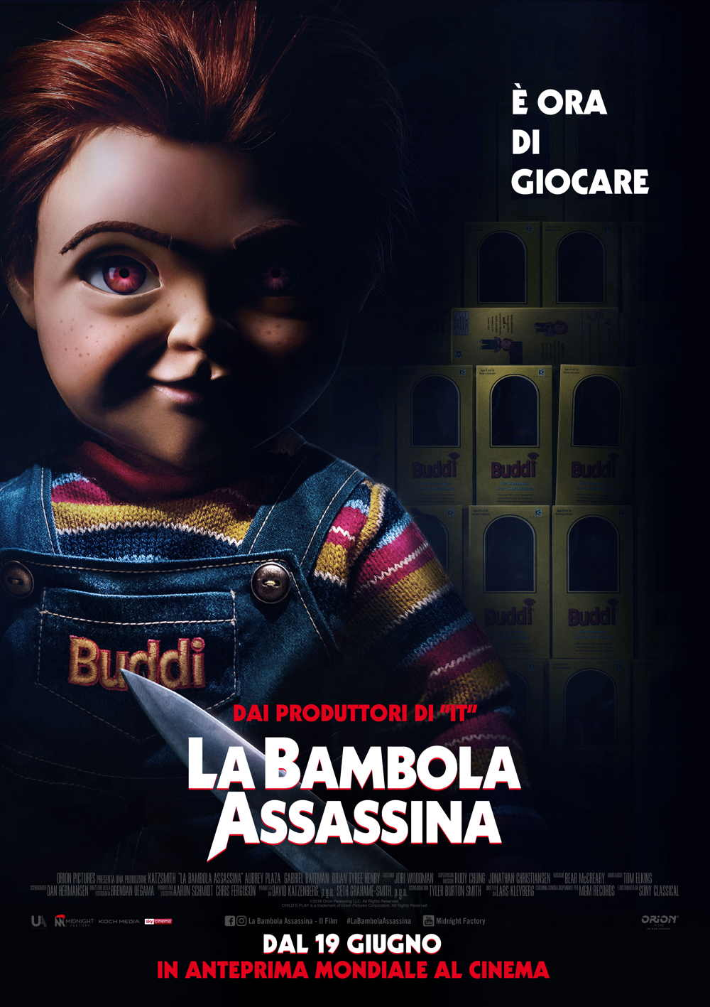 a Bambola Assassina - Poster Ufficiale Italiano