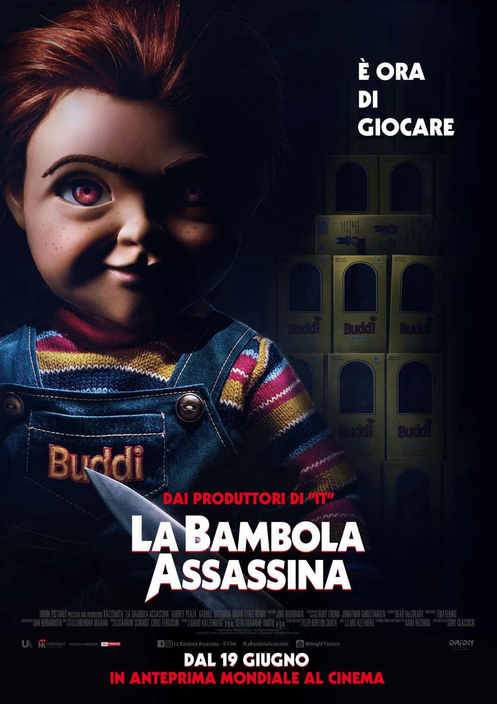 a Bambola Assassina - Poster Ufficiale Italiano