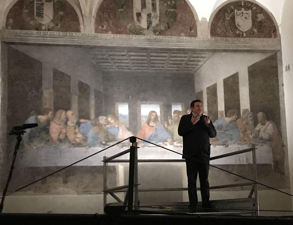 La visita al Cenacolo Vinciano con Roberto Giacobbo