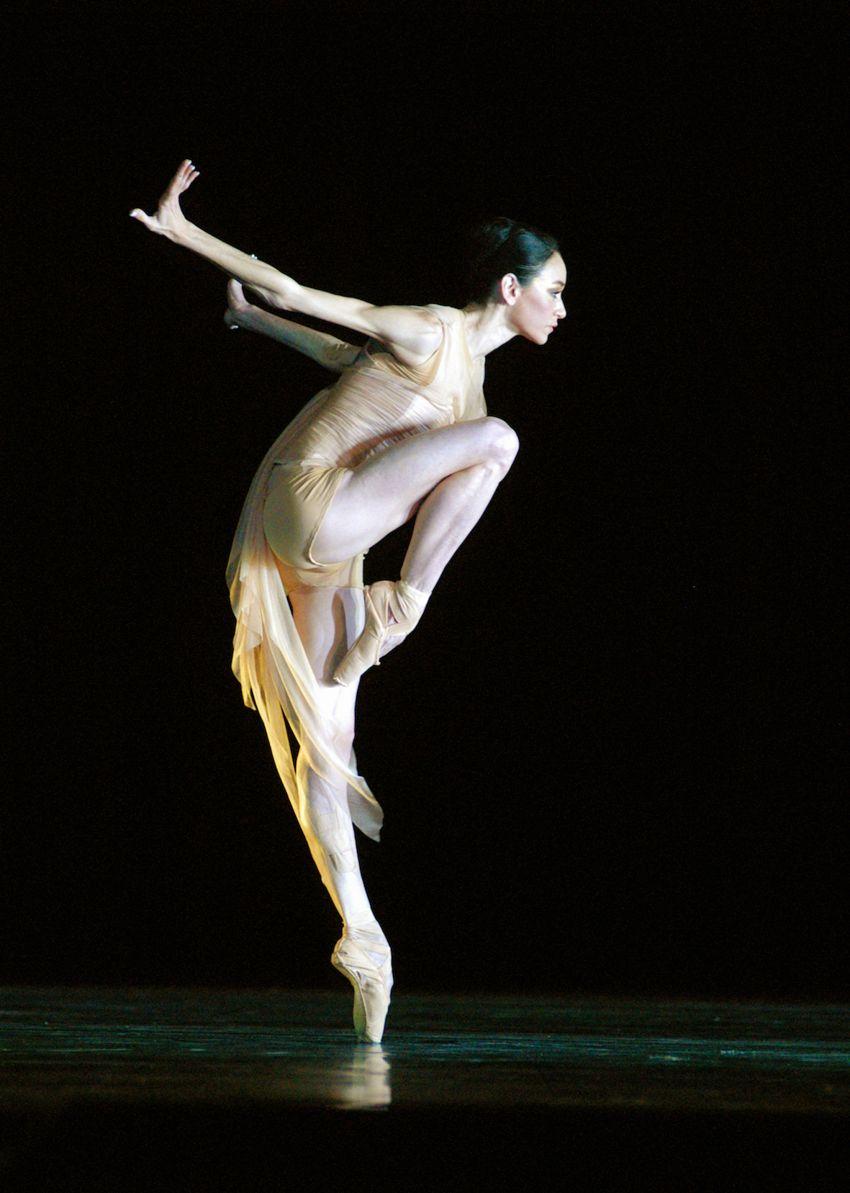 Lucia Lacarra in una posa del balletto