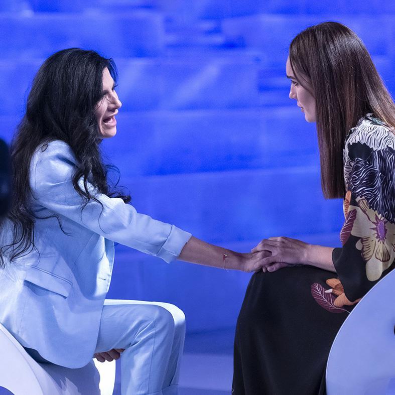 Pamela Prati e Silvia Toffanin a Verissimo 2019 (2)