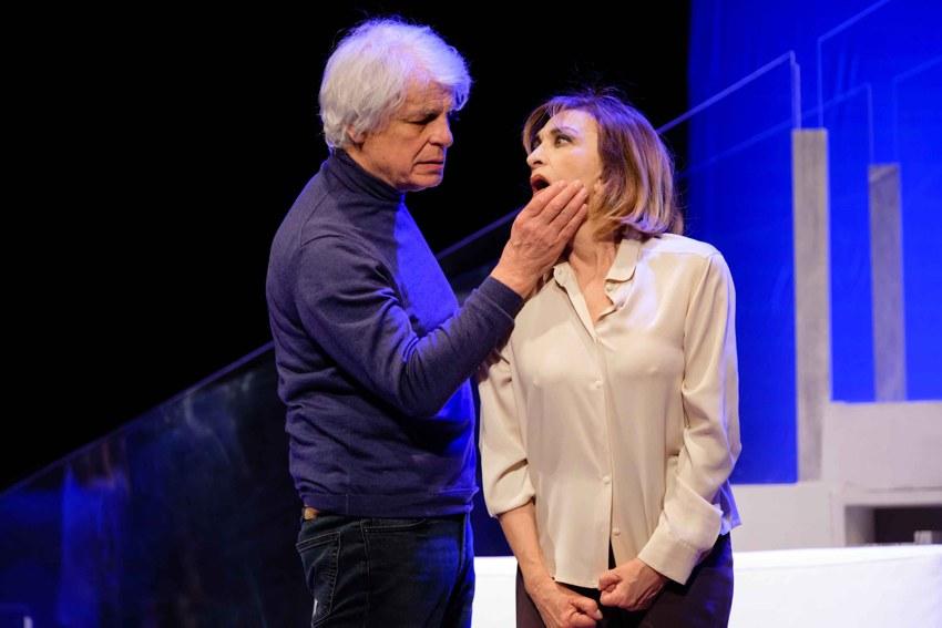 Piccoli crimini coniugali - Michele Placido ed Anna Bonaiuto