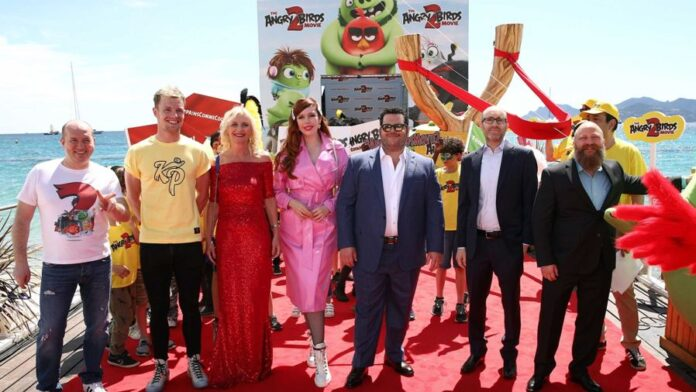Presentazione Angry Birds 2 a Cannes 2019