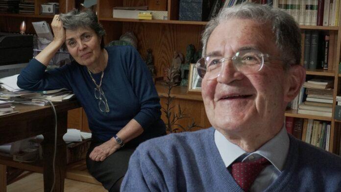 Romano Prodi e Flavia Franzoni in Gli anni di Romano Prodi