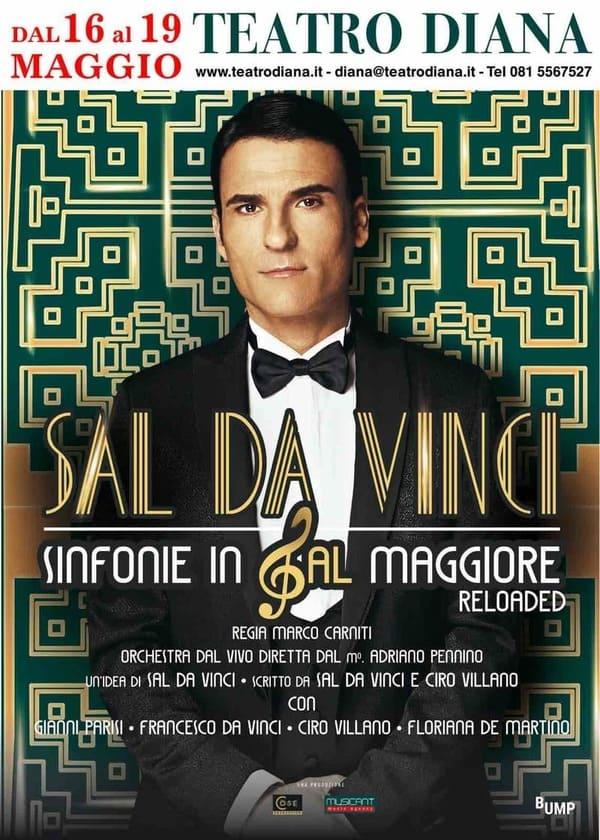 Sal Da Vinci - Sinfonie in Sal Maggiore locandina