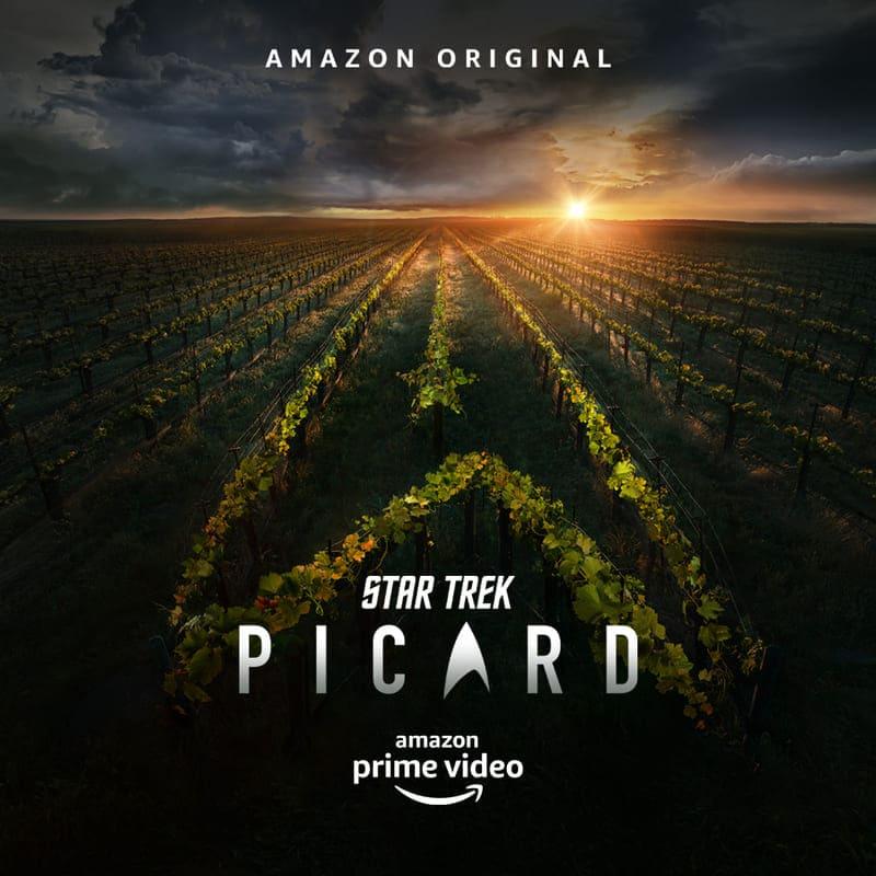 Star Trek Picard - locandina Amazon Prime Video