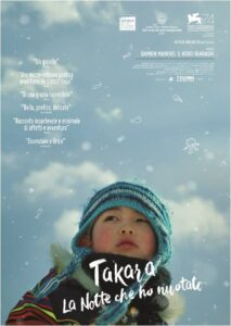 Takara - La notte che ho nuotato - locandina