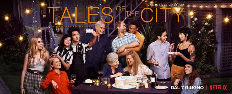 Tales of the City - locandina Netflix