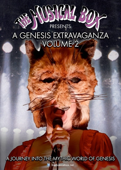 The Musical Box Genesis Extravaganza Vol2 - locandina