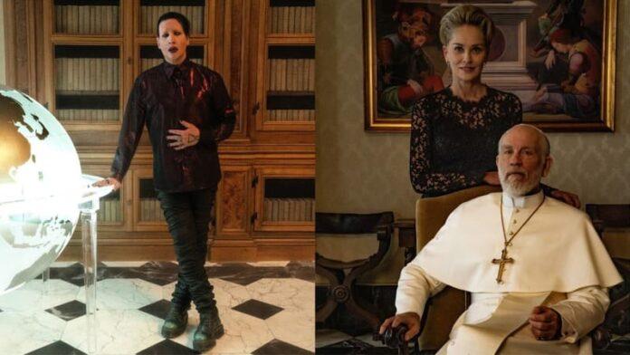 The New Pope - Marilyn Manson, Sharon Stone, John Malkovich