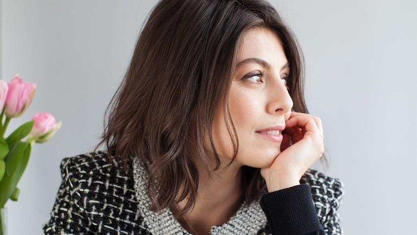 Uno scatto che ritrae la bellissima Alessandra Mastronardi