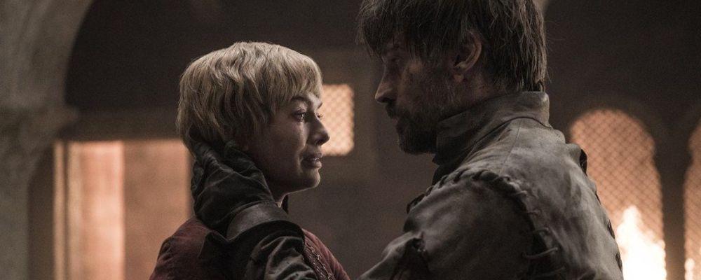game of Thrones - Lena Headey (Cersei) e Nicolaj Coster-Waldau (Jaime)