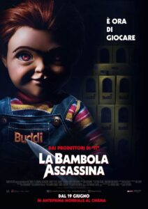 La bambola assassina - locandina