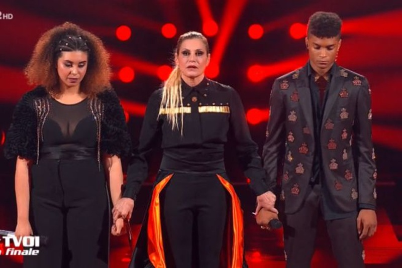Eliminazione di Diablo - The Voice of Italy 2019