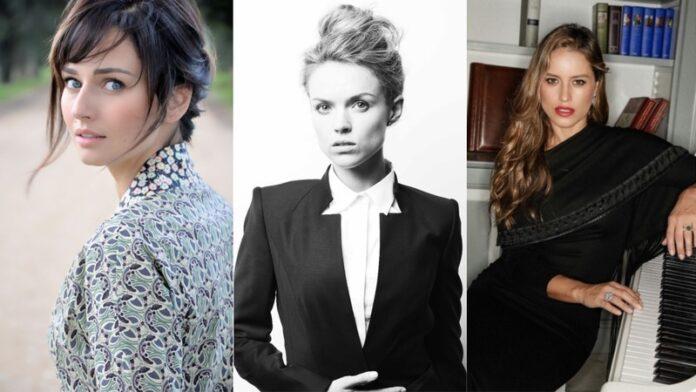 Filming Italy Sardegna Festival - Anna Safrocik, Erin Richards, Lola Ponce