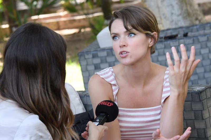 Filming Italy Sardegna Festival - Erin Richards (2)