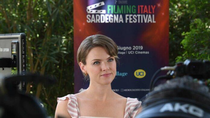 Filming Italy Sardegna Festival - Erin Richards