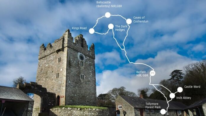 Game of Thrones - percorso TomTom Castle Ward