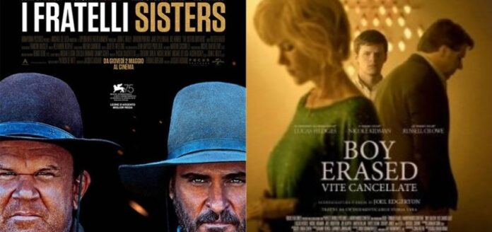 I fratelli Sisters e Boy Erased - Universal