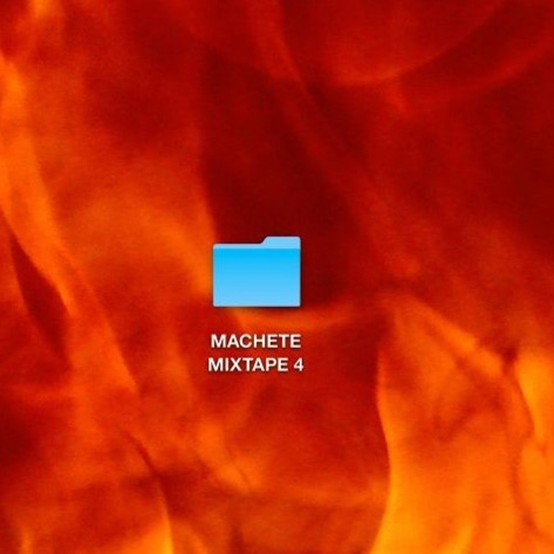 Machete Mixtape 4 - cover