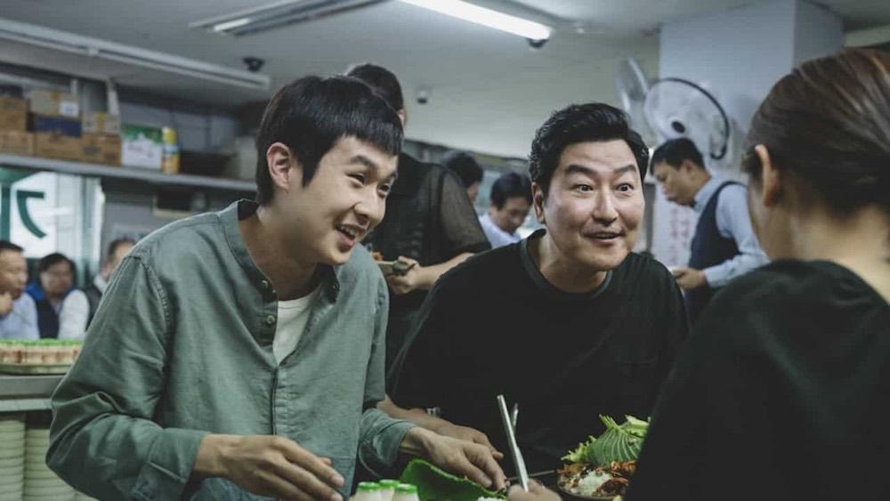 Parasite - Choi Woo-sik e Song Kang-ho