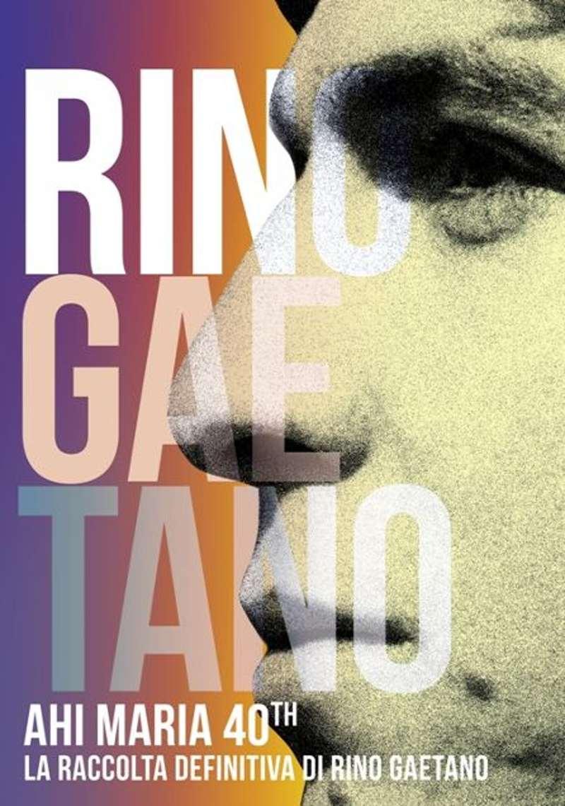 Rino Gaetano - Ahi Maria 40th cover