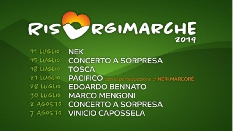 RisorgiMarche 2019 - Date