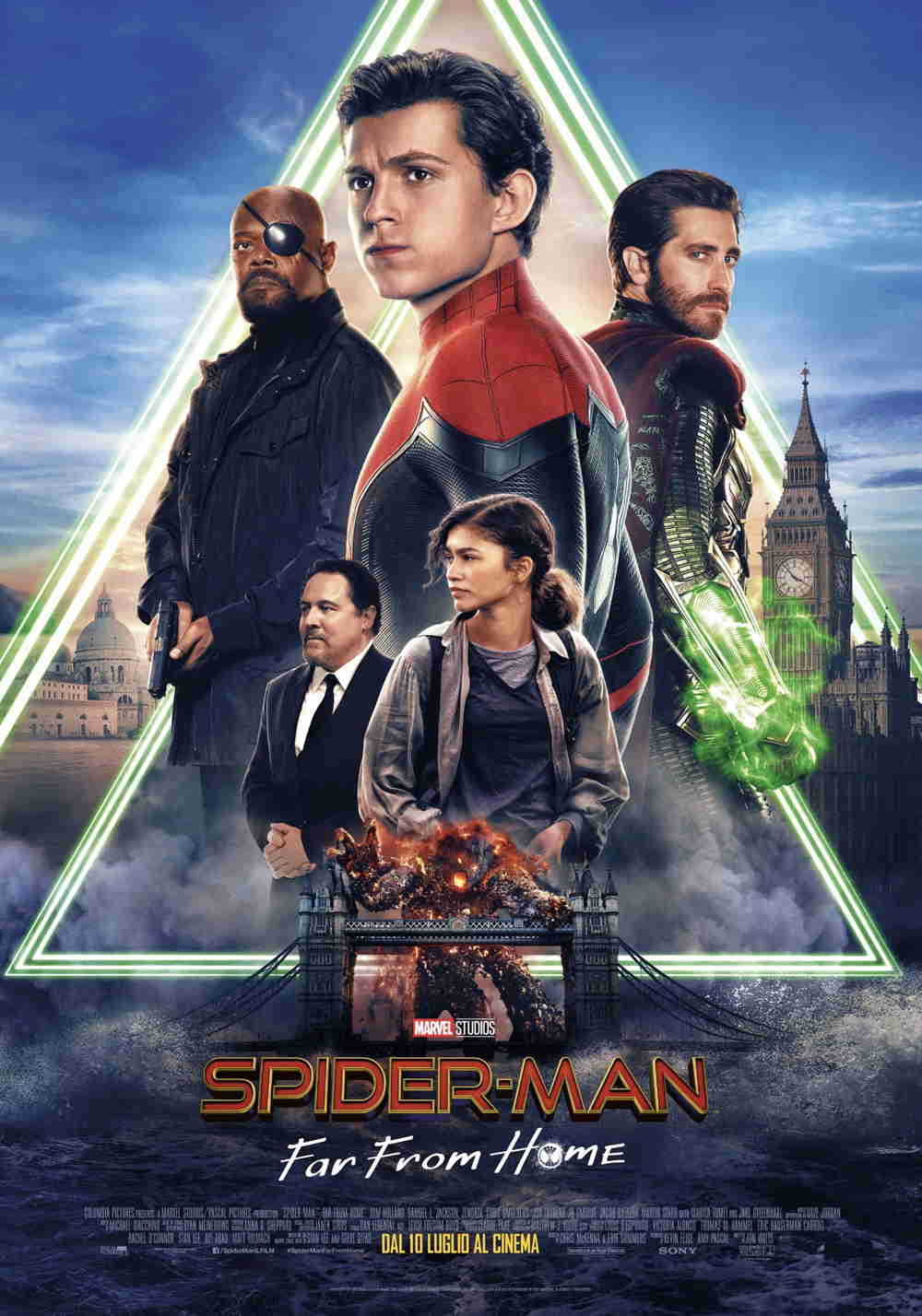 Spider-Man: Far From Home - final poster