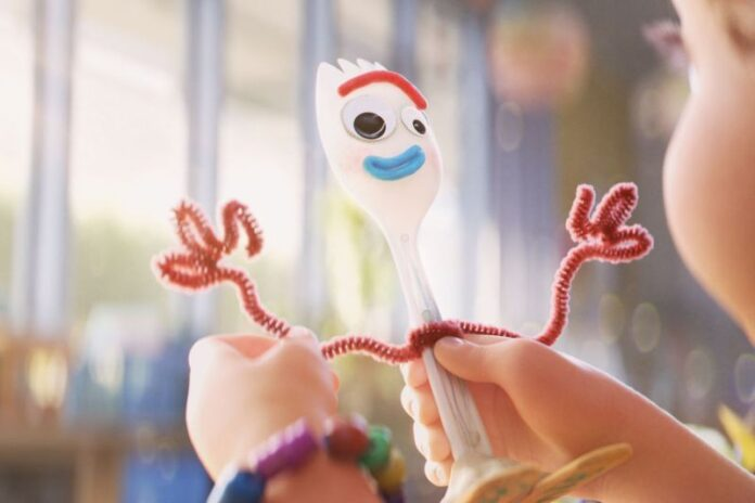 Toy Story 4: Forky, il nuovo amico creato dalla piccola Bonnie