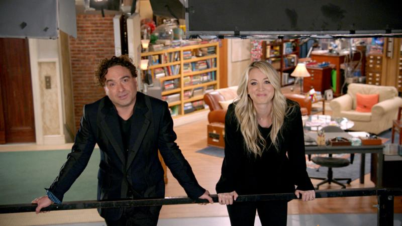 Unraveling the Mystery A Big Bang Farewell - Johnny Galecki e Kaley Cuoco