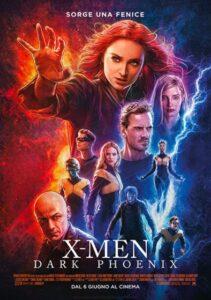 X-Men - Dark Phoenix - locandina
