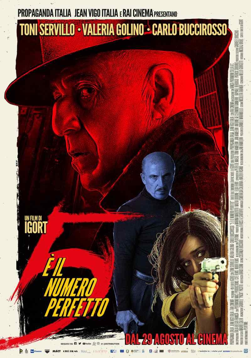 5 è il numero perfetto . poster
