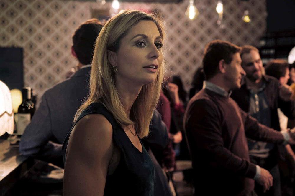 Anna Ferzetti in una scena di Domani è un altro giorno