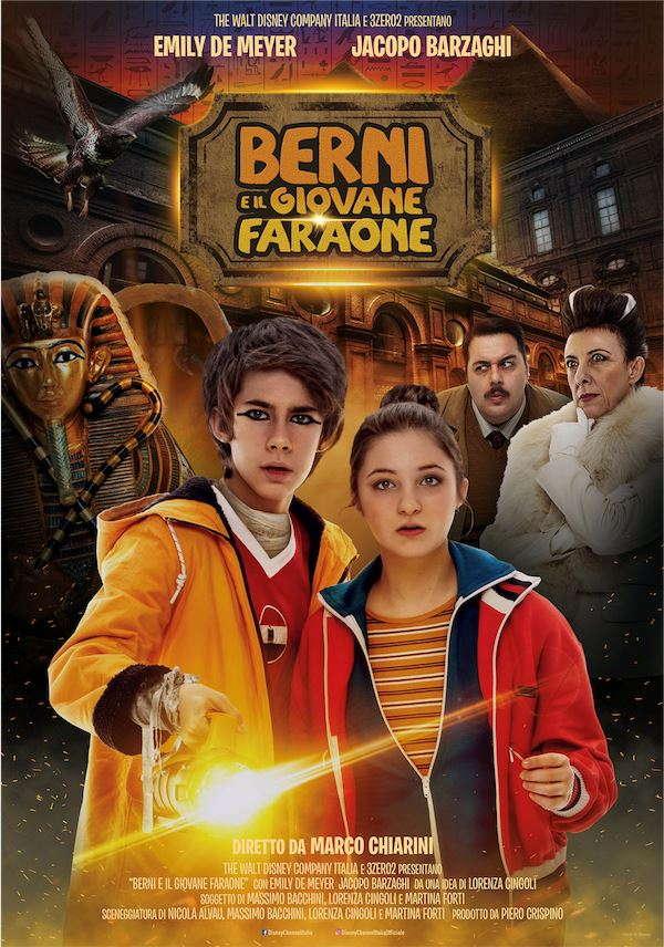 Berni e il giovane faraone - Poster