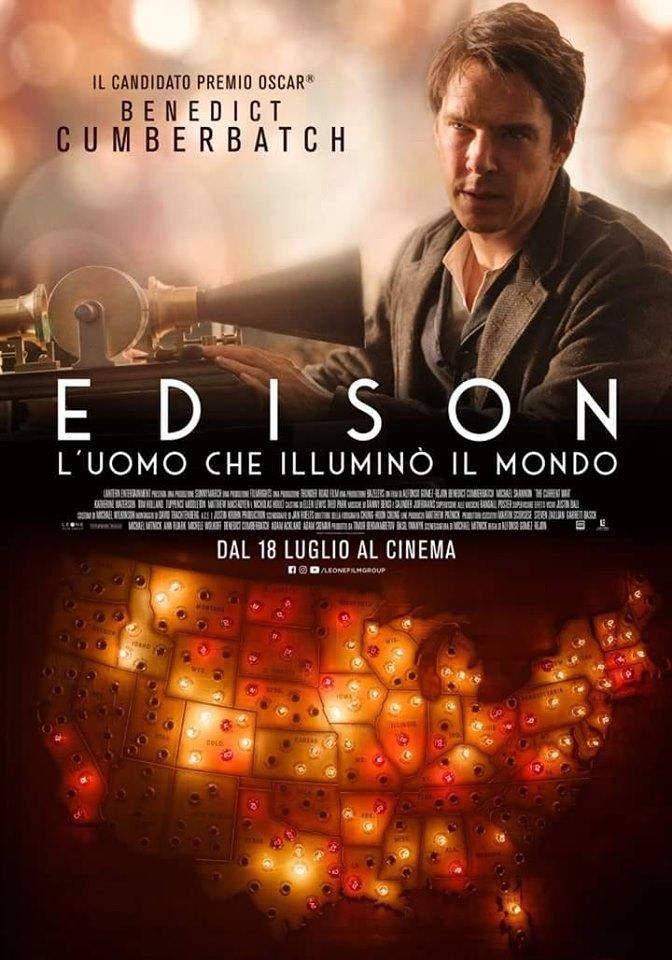 Edison - L'uomo che illuminò il mondo - locandina