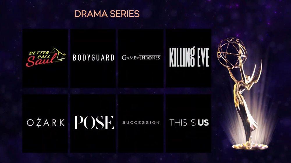 Emmy 2019 nomination - Drama series
