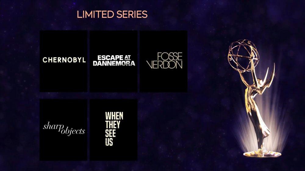 Emmy 2019 nomination - Miniserie