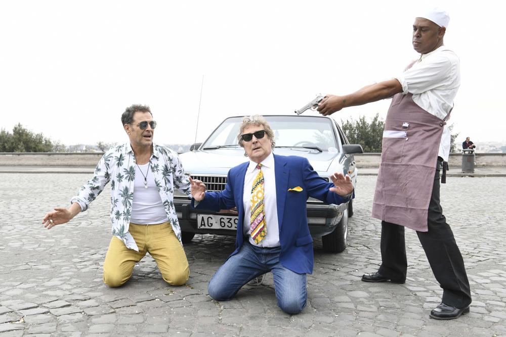 Enzo Iacchetti, Pino Quartullo e Fausto Caroli - Hollywood burger