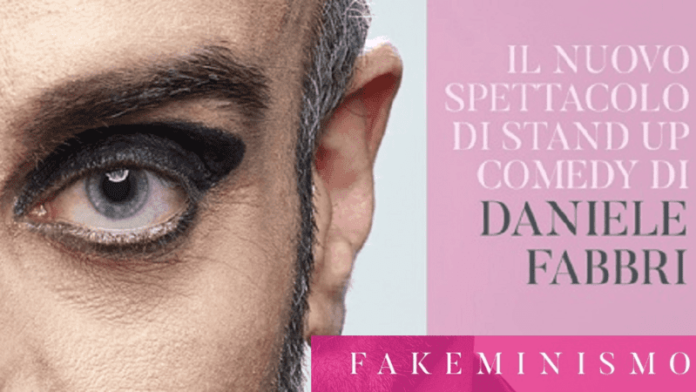 Fakeminismo - locandina Daniele Fabbri