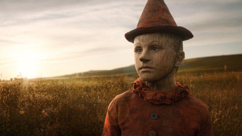 Federico Ielapi nel ruolo di Pinocchio